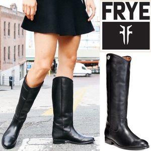FRYE MELISSA BUTTON 3 Knee High Riding Boots